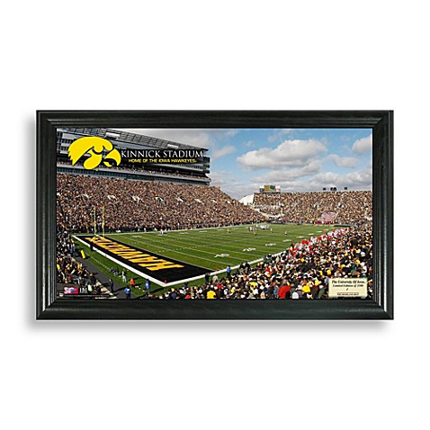 University of Iowa Gridiron Panoramic Frame