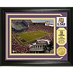 Tiger Stadium Minted Team Medallion Photo Mint Frame