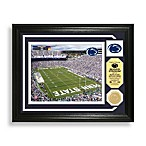 Beaver Stadium Minted Team Medallion Photo Mint Frame