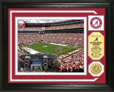 Bryant-Denny Stadium Minted Team Medallion Photo Mint Frame