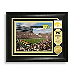 Kinnick Stadium Minted Team Medallion Photo Mint Frame