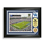 Commonwealth Stadium Minted Team Medallion Photo Mint Frame