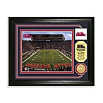 Vaught-Hem in gway Stadium/Holl in gsworth Field Bronze Coin Photo Mint Frame