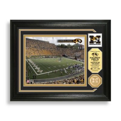 Faurot Field Minted Team Medallion Photo Mint Frame