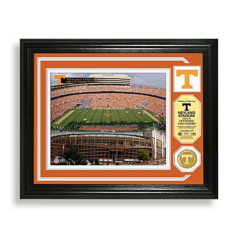 Neyland Stadium Minted Team Medallion Photo Mint Frame