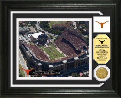Darrell K. Royal Texas Memorial Stadium Minted Team Medallion Photo Mint Frame