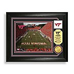Lane Stadium Minted Team Medallion Photo Mint Frame