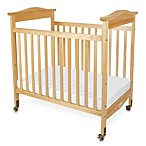 Foundations® Biltmore™ Compact Fixed-Side Clearview Crib in Natural