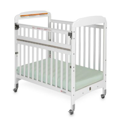 Foundations® Serenity® Compact SafeReach™ Clearview Crib in White