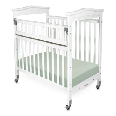 Foundations® Biltmore™ Compact SafeReach™ Clearview Crib in White
