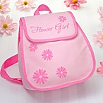 Flower Girl Backpack in Pink