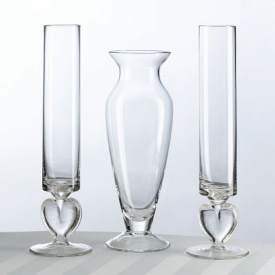 Lillian Rose™ Glass Unity Sand Vase Set