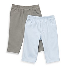 Carter's® Essential 2-Pack Light Blue/Grey Pants