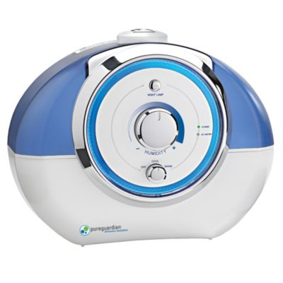 Germ Guardian® 55-Hour Ultrasonic Manual Humidifier
