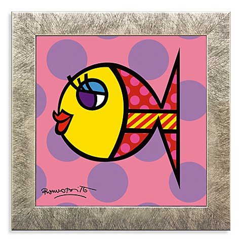 Dotti Fish Framed Wall Art by Britto