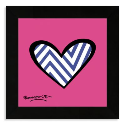 Britto™ Zig Zag Framed Wall Art