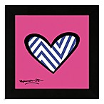 Britto™ Framed Wall Art Zig Zag