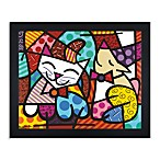 Britto™ Happy Cat and Snob Dog Wall Art
