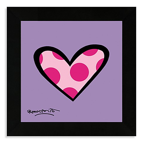 Dotty About You Framed Wall Art by Britto
