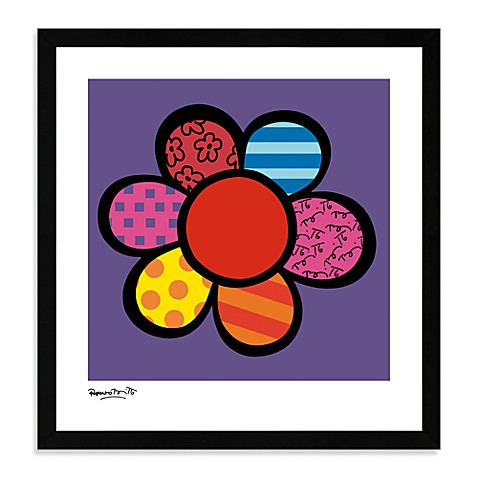 Britto™ Flower Power III Framed Wall Art