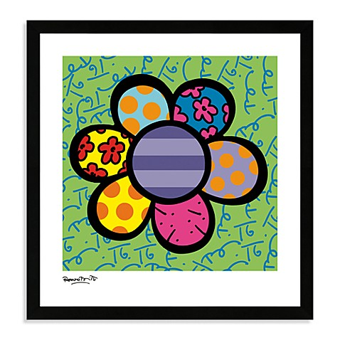 Britto™ Flower Power IV Framed Wall Art