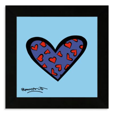 Blue About You Framed Wall Art by Britto™