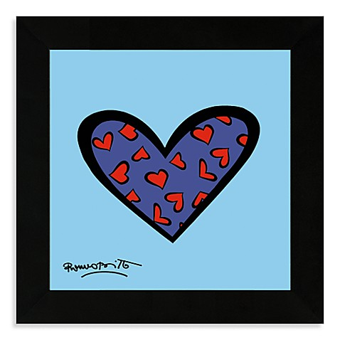 Britto™ Blue About You Framed Wall Art