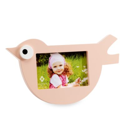 Light Pink Bird 6-Inch x 4-Inch Frame