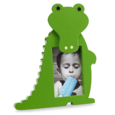 Green Alligator 4-Inch x 6-Inch Frame