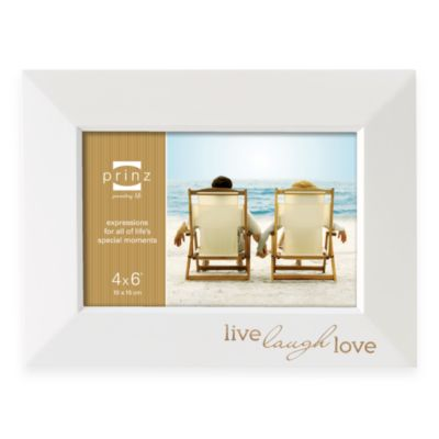 Prinz Dakota 6-Inch x 4-Inch Frame in Live Laugh Love