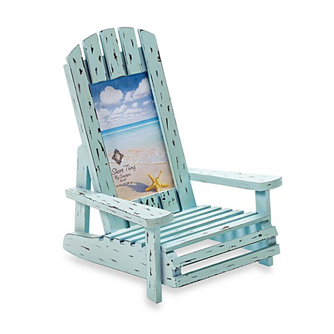 Driftwood Beach Chair 6-Inch x 4-Inch Frame in Blue