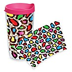 Tervis® Colored Leopard Wrap 16-Ounce Tumbler with Lid