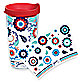 Tervis® Fiesta® Americana Flowers Wrap 16-Ounce Tumbler with Lid