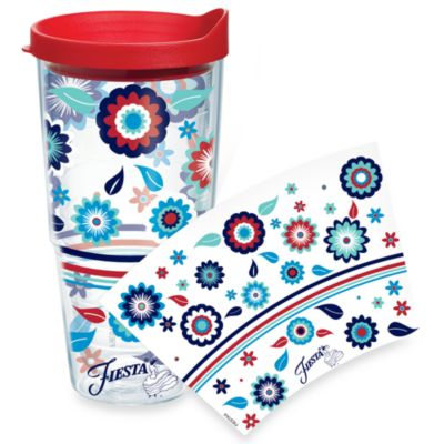 Tervis® Fiesta® Americana Flowers Wrap 24-Ounce Tumbler with Lid