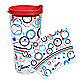 Tervis® Fiesta® Americana Ripple Wrap 24-Ounce Tumbler with Lid