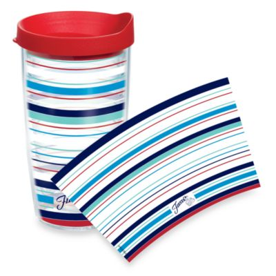 Tervis® Fiesta® Americana Stripes Wrap 16-Ounce Tumbler with Lid