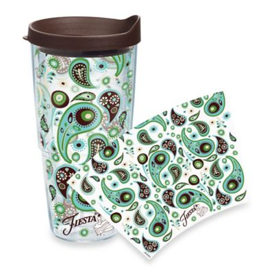 Tervis® Fiesta® Blue Paisley Wrap 24-Ounce Tumbler with Lid