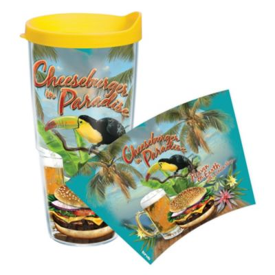 Tervis® Cheeseburger in Paradise Wrap 24-Ounce Tumbler with Lid