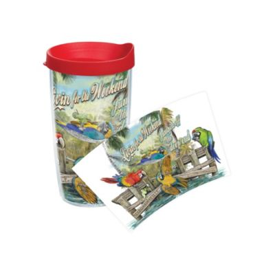 Tervis® Margaritaville Livin' For the Weekend Wrap 16-Ounce Tumbler with Lid
