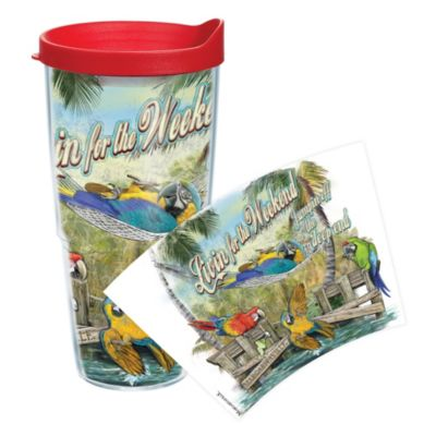 Tervis® Margaritaville Livin' for the Weekend Wrap 24-Ounce Tumbler with Lid