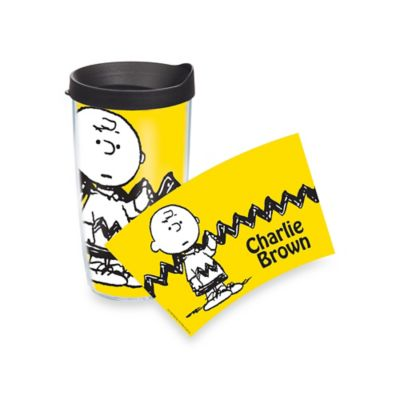 Tervis® Peanuts® Charlie Brown Wrap 16-Ounce Tumbler with Lid