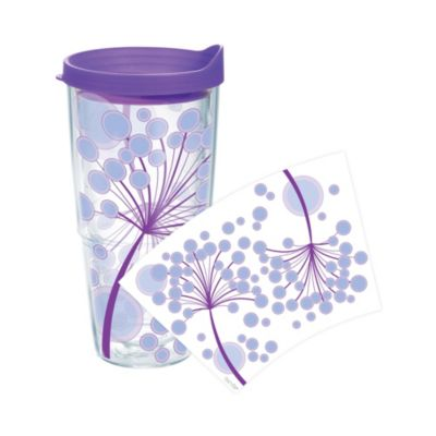 Tervis® Purple Dandelions Wrap 24-Ounce Tumbler with Lid