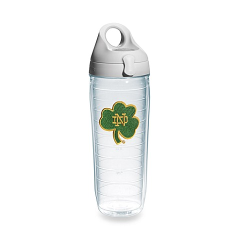 Tervis® University of Notre Dame® Shamrock 24-Ounce Water Bottle