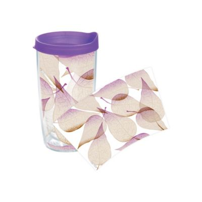 Tervis® Purple Leaf Wrap 16-Ounce Tumbler with Lid
