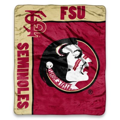 Florida State University Seminoles Raschel Throw