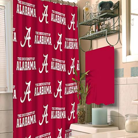 Buy University Of Alabama 72 Quot X 72 Quot Fabric Shower Curtain