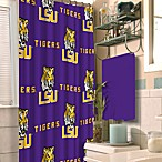 Louisiana State University 72-Inch x 72-Inch Fabric Shower Curtain