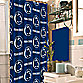 Penn State 72-Inch x 72-Inch Fabric Shower Curtain