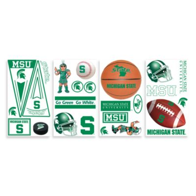Michigan State Peel & Stick Wall Decals