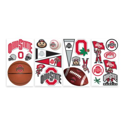 Ohio State Peel & Stick Wall Decals